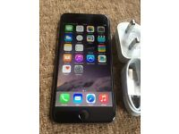Apple iPhone 6 128gb space grey UNLOCKED