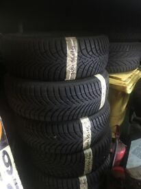 205/55/16 x4 Michelin winter tyres