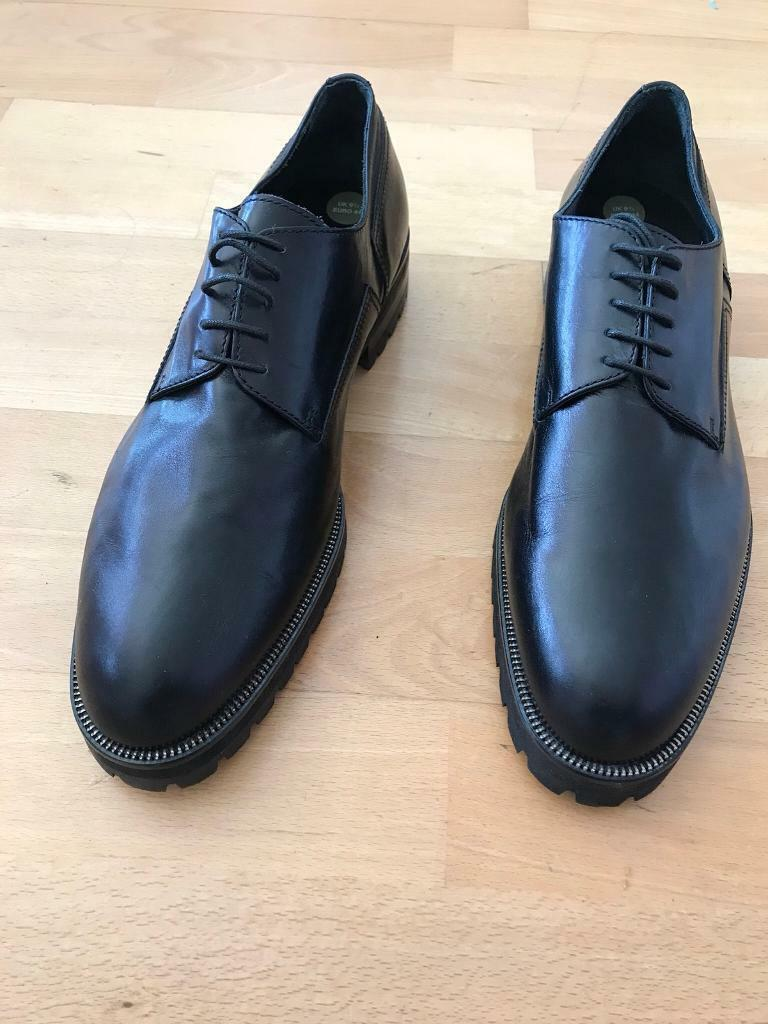 a8b84fd4ab248 New Versace Men s Black Smart Formal Shoes UK 9.5 £50. Open to sensible  offers.