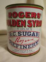 Vintage - Roger's Golden Syrup Tin with Lid