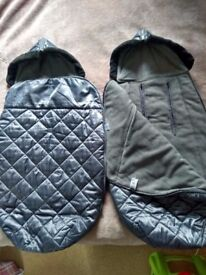 footmuffs for twins mothercare