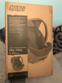 Mamas and papas cybex car seat (brand new ) still in box