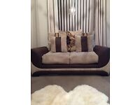 2 and 3 piece settees.. from SMOKE FREE HOME, EXCELLENT CONDITION, CAN DELIVER LOCALLY - £300 ONO
