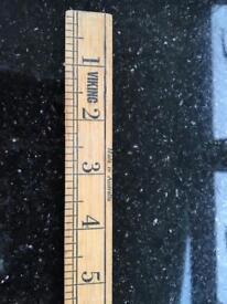 Vintage antique Yard ruler wooden