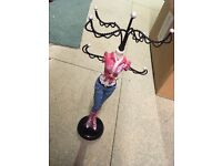 Jewellery stand for hanging necklaces and bracelets