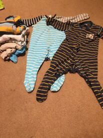 9-12 months baby boy bundle of clothes