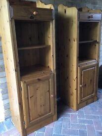 Ducal pine storage/bookcase units