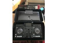 XDJ RX DJ Controler Decks from Pioneer with case and deck saver and box