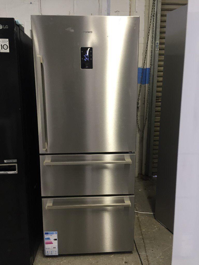 Smeg Ft41bxe 3 Door American Style Fridge Freezer A