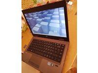 hp probook 6460b screen 14'' inch CPU i5 gen 2 4gb ram 500gb hdd webcam dvd-rw windows 10 pro