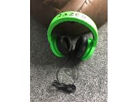 Razor (Green) Headsets for PC