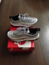 BRAND NEW size 8.5 OG classic silver bullet Nike air max 97