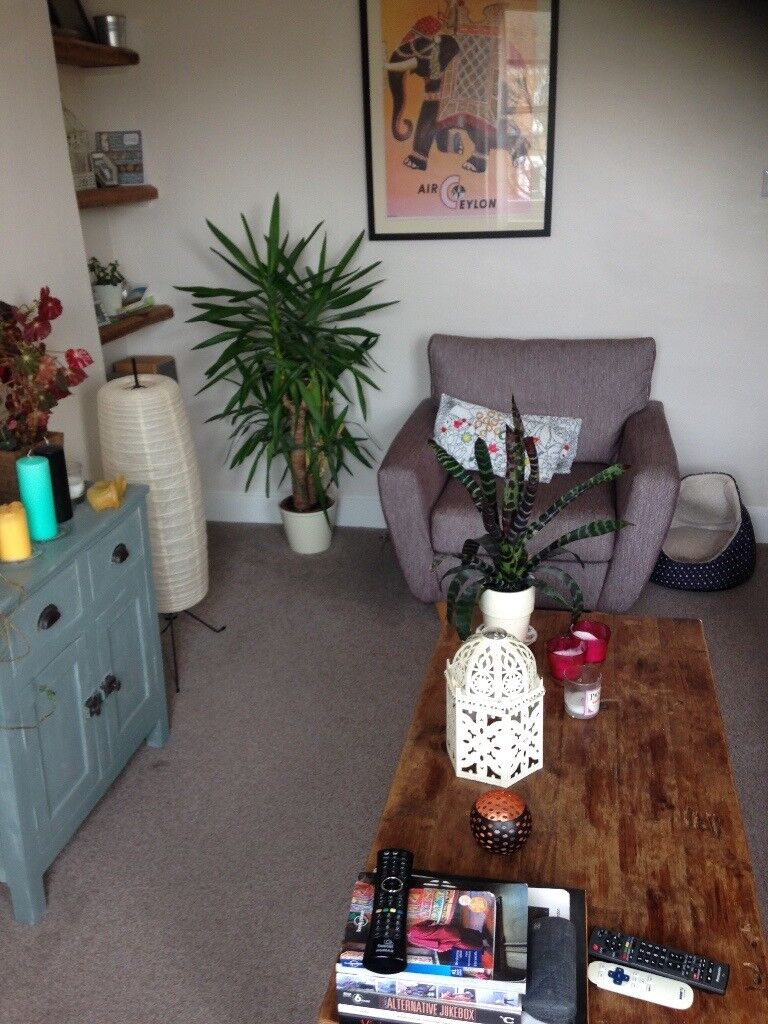 Double room to rent in 2 bed flat in great central hove location