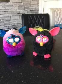 Furby Boom crystal and original Furby