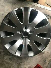 "Vauxhall Insignia 19"" alloy wheel"