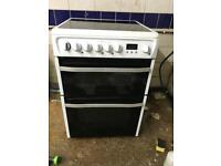 Hotpoint ceramic electric cooker white very nice 👍🏿 60 cm