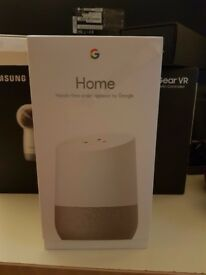 BRAND NEW - GOOGLE HOME - SEALED * UNOPENED