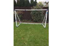 FOOTBALL GOAL 6X4 WITH NEW EXTRA STRONG NET
