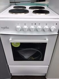 Brand new electric cooker Montpellier 50cm . all grill pan everything unopened