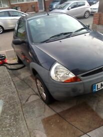 QUICK SALE!!! Ford KA car 2004 navy blue NO MOT Spare or Repairs 1.3