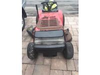Mastercut 16hp petrol ride on lawnmower