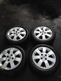 Vauxhall corsa sxi alloys 185/55r15