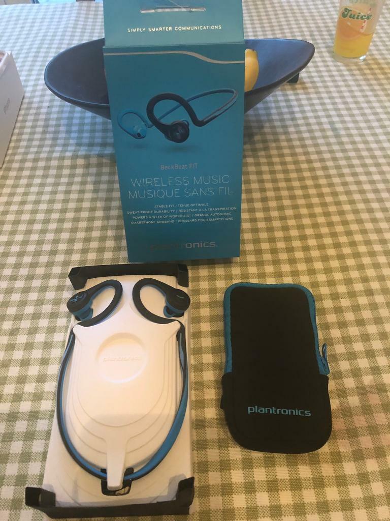 Plantronics BackBeat FIT Wireless Bluetooth Earphones | in Swindon,  Wiltshire | Gumtree
