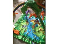 Fisher Price rainforest/gym mat