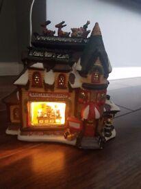 Christmas Lit Santa Workshop