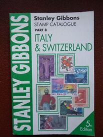 Stanley Gibbons Italy & Switzerland Stamp Catalogue