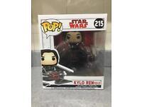 Funko Pop Star Wars Kylo Ren with Tie Fighter #215