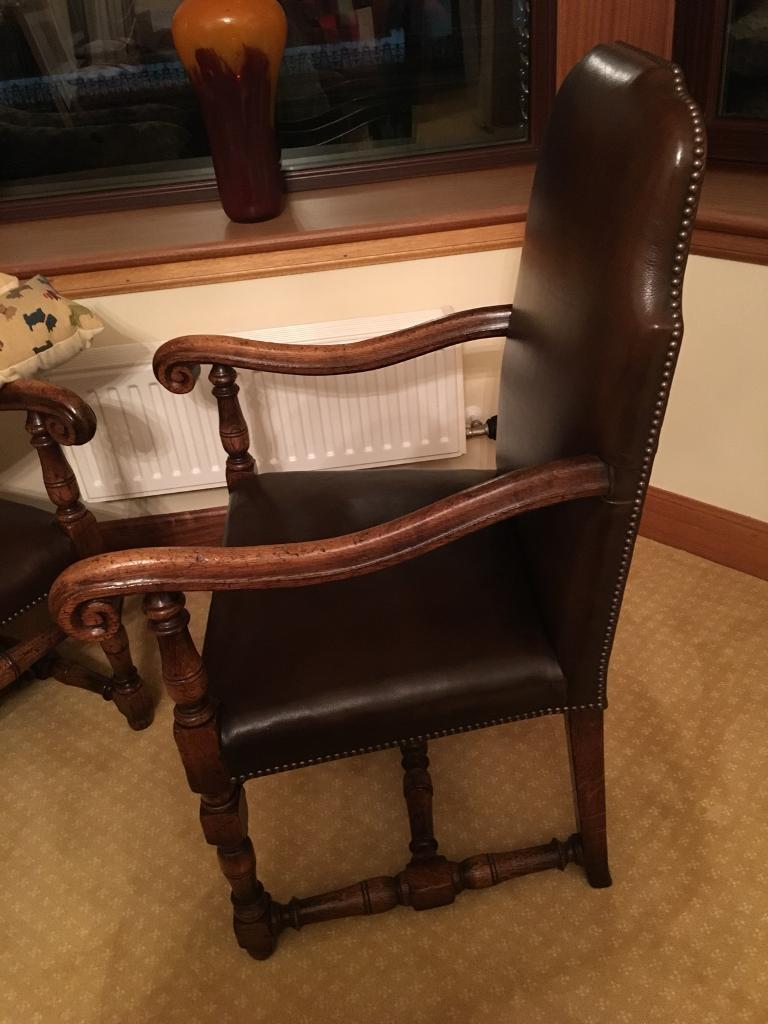 Carver Arm Chairs