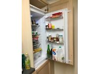 integrated fridge and freezer