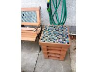 Upcycled Garden Patio/Table