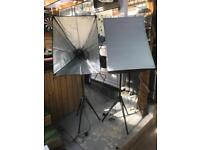 Photography photo studio booth lighting stands