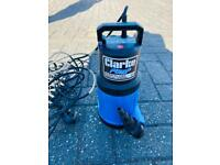 Cheshunt Hydroponics Store - Used Clarke CSE2 submersible water pump