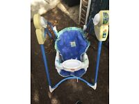 Link-a-doos magical mobile swing for baby