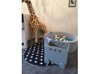 Brand new pull along baby toy box RRP £60