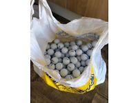 Golf balls for sale £25 per 100