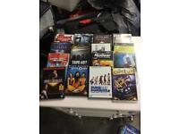 81 DVDs ideal to sell at car boot £30 the lot
