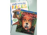 Face painting books £5 for 2