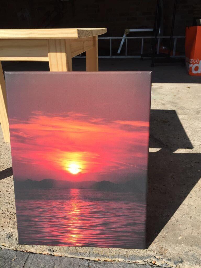 Portrait sunset picture