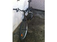 "Mountain Bike B.twin 26"" black, Very good condition. Nothing wrong"