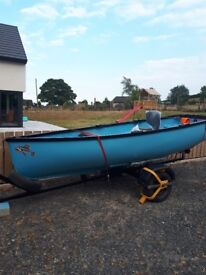 12ft fishing boat with trailer (no engine)