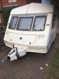 A.b.i dalesman 2 birth caravan 1999 model