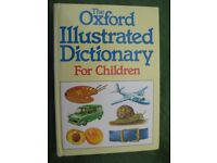 The Oxford Illustrated Dictionary for Children Hardback for £4.00