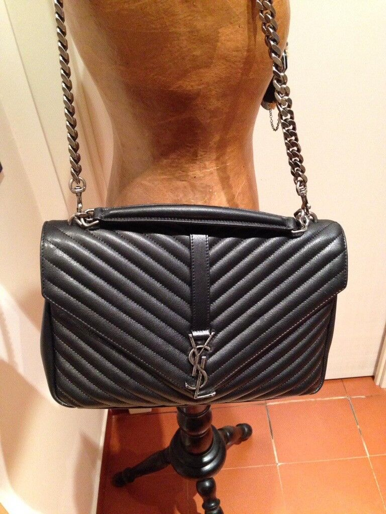e37c98926289 Yves Saint Laurent College Bag - Big size