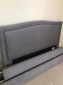 Upholstered Kingsize Bedframe