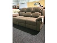 New brown 3/1/1 suite-armchairs rrecliner