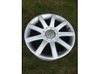 Original equipment Audi TT mk1 alloy wheels